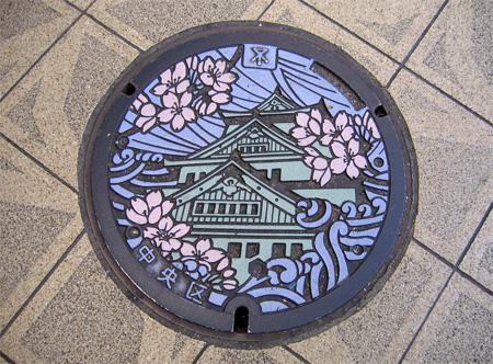 Литье крышки люков в Японии