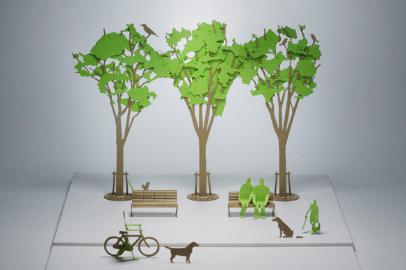 Как сделать дерево для макета своими руками