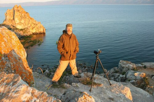 Агниславъ. озеро Байкал