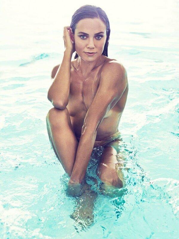 Натали Колин — плавание