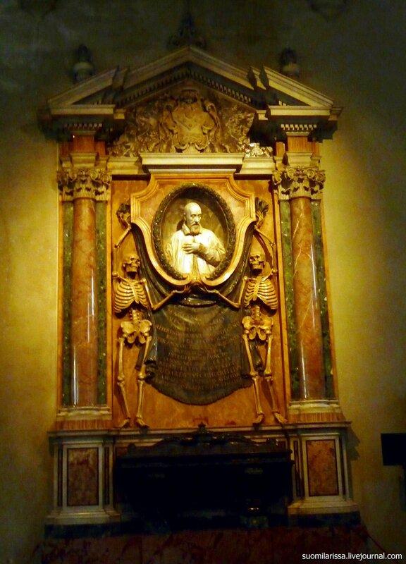 Надгробие в церкви Св. Петра в Веригах. Рим.