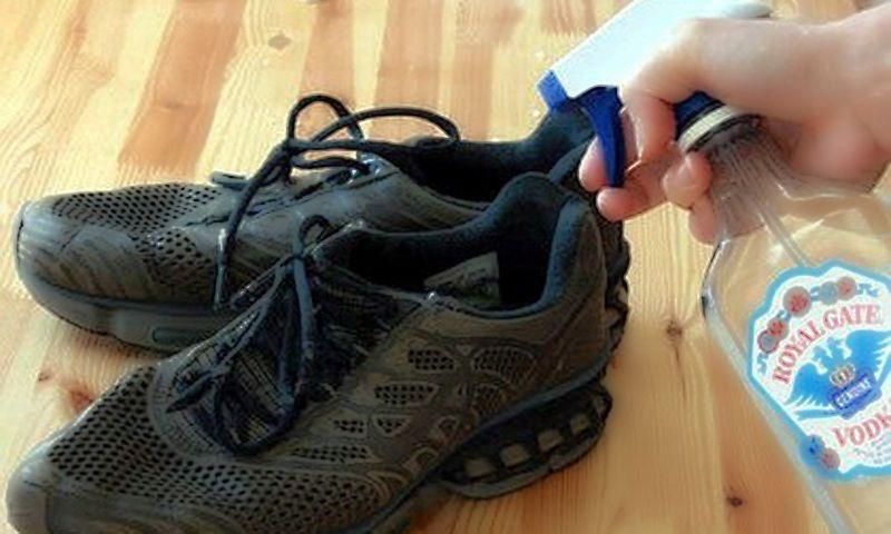Как сделать так чтоб кроссовки не воняли