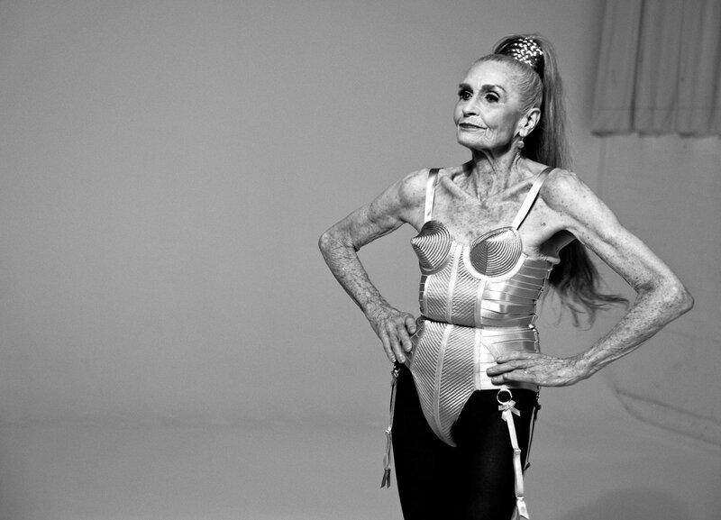 фотомодели пожилых русских женщин фото