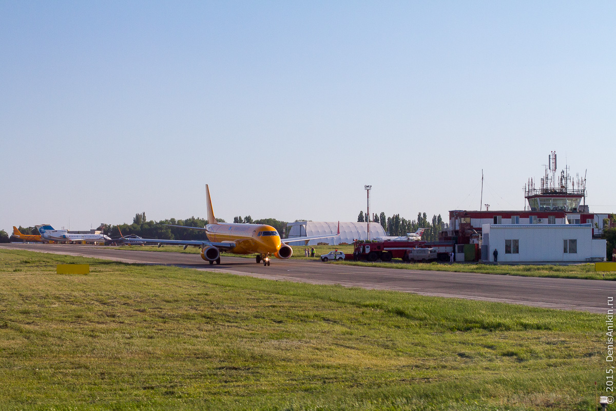 Полёт Саратов - Санкт-Петербург 2