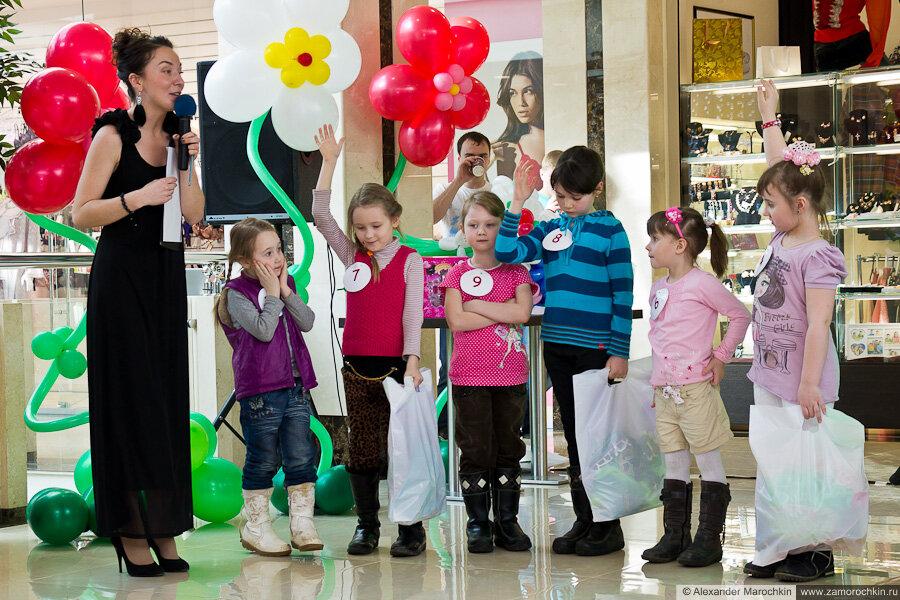Конкурс кутюрье и манекенщицы. ТРЦ РИО, Саранск, 08.03.2013