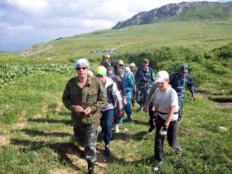 Кавказ, Лагонаки, фотография Виталия Жигулина