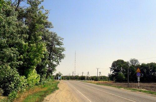 Дороги Каневского района, Кубань, лето 2012