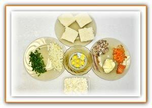 продукты для приготовления бутербродов с рыбой