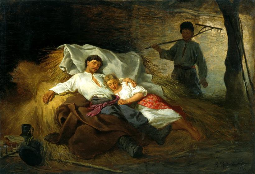 Хорошо с крестьянкой на сеновале фото 194-164