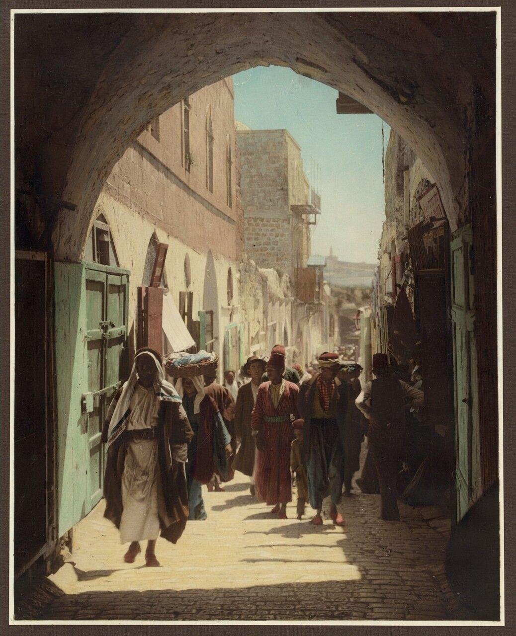 Улица Давида. Иерусалим