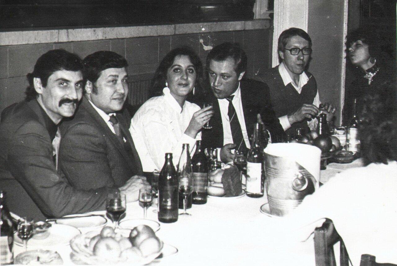 Встреча выпуска энергетического ф-та МИИТ. 1977 г.