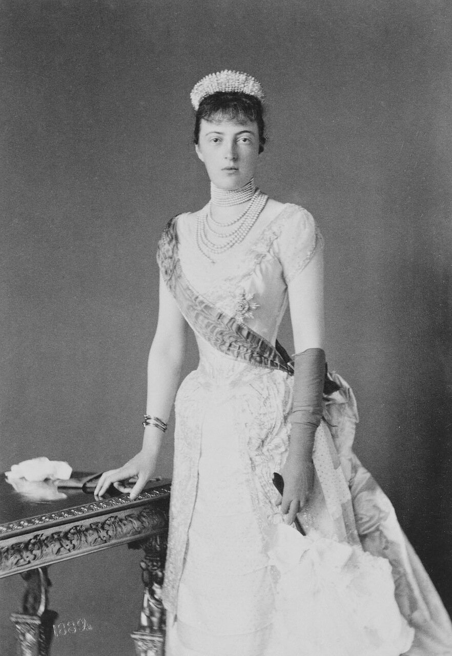 Великая княгиня Анастасия Михайловна, 1889