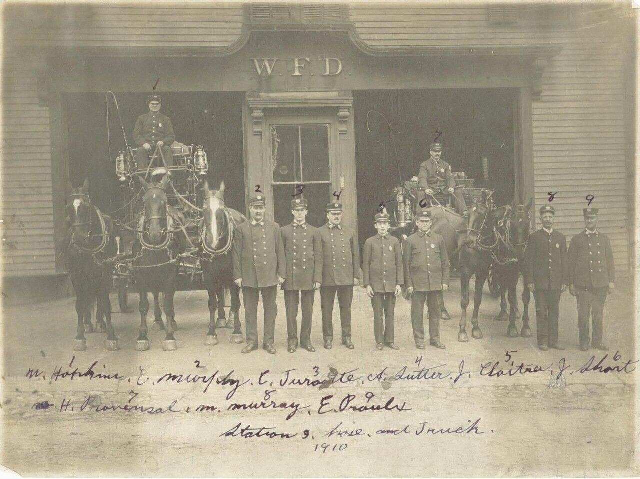 1910. Пожарный пункт №3