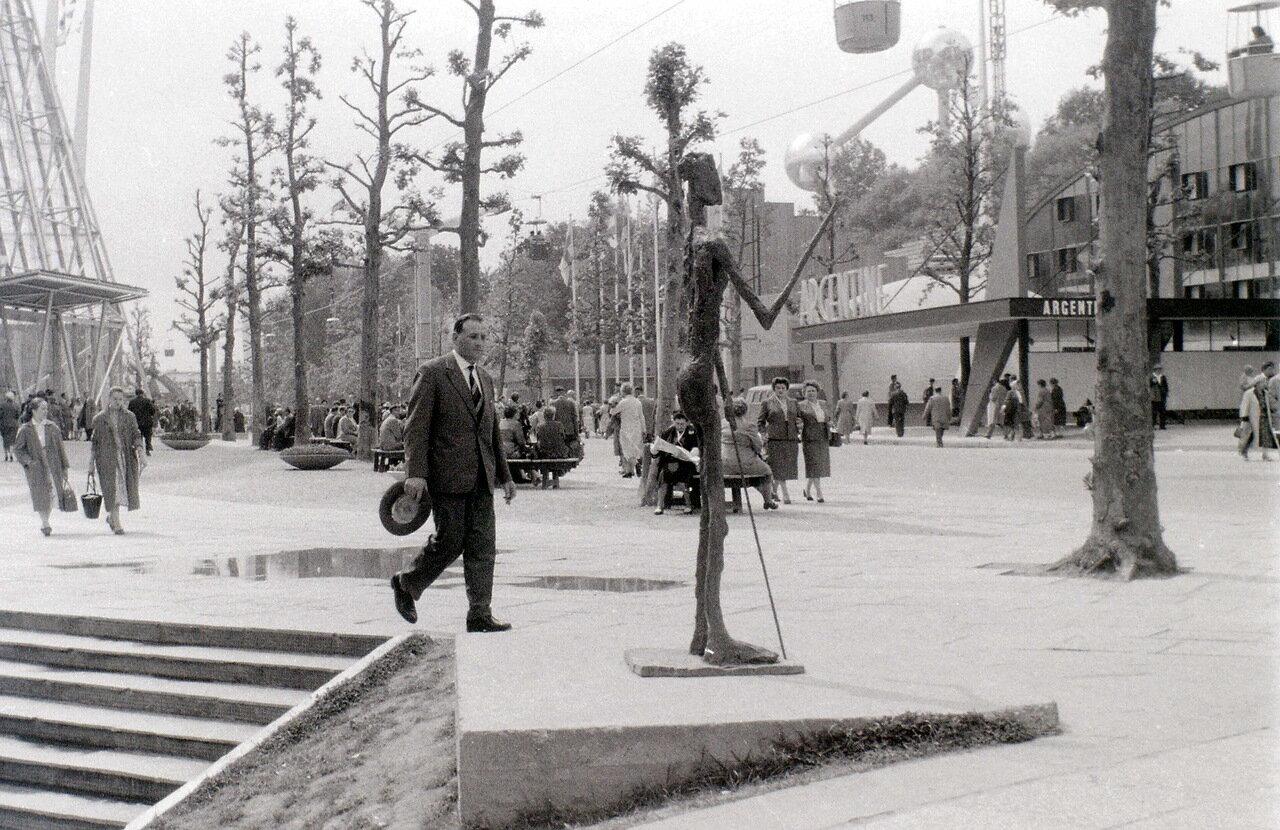На Всемирной выставке Expo 58 в Брюсселе