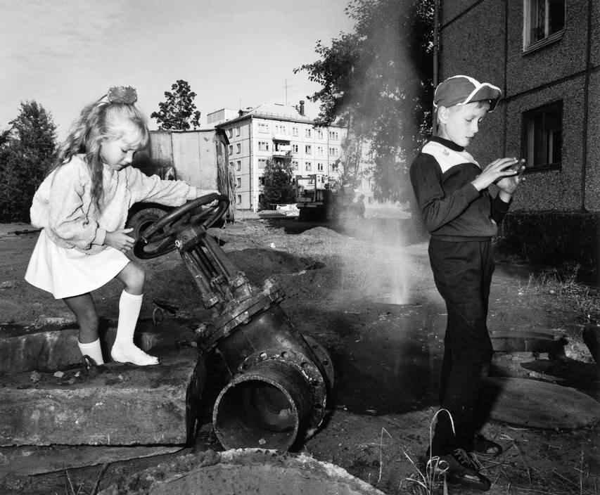 1989 год. Братск. Детские игры