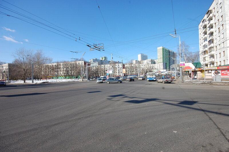Улица Народного Ополчения в