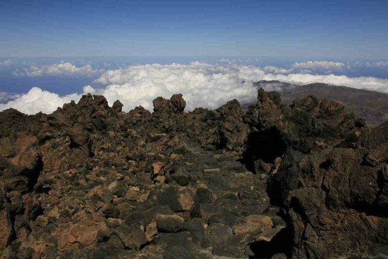 Константин Шульга, Тенерифе, на вулкане над облаками 5
