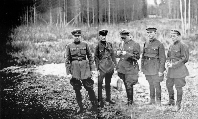 NKVD firing squad, 1936