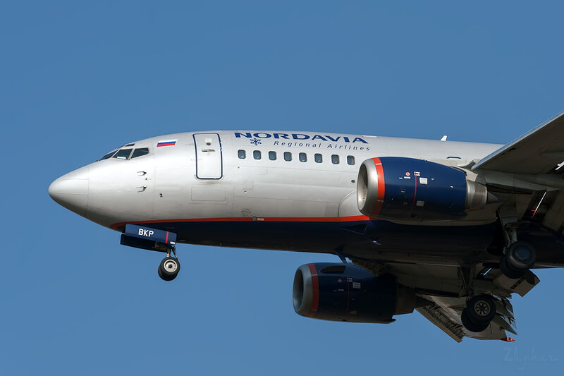Boeing 737-59D (VP-BKP) Нордавиа DSC6642