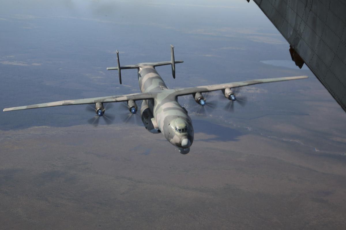 Самолеты, Мигалово, полет над Тверью