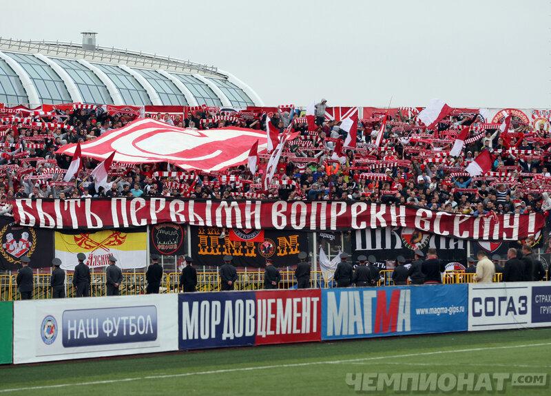 «Мордовия» vs «Спартак» 2:1 Премьер-лига 2012-2013 (Фото)