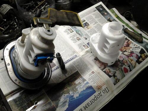 Замена топливного фильтра в киа спортейдж 3