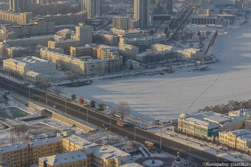 Плотинка. Екатеринбург.