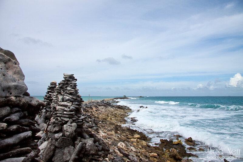 береговая линия острова Crasqui, los roques, venezuela
