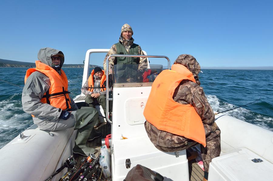 рыбалка на большой шантар