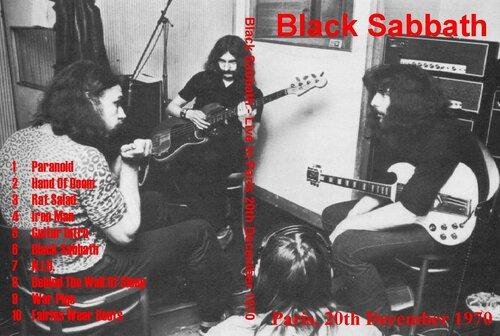 Black Sabbath - Paris 1970