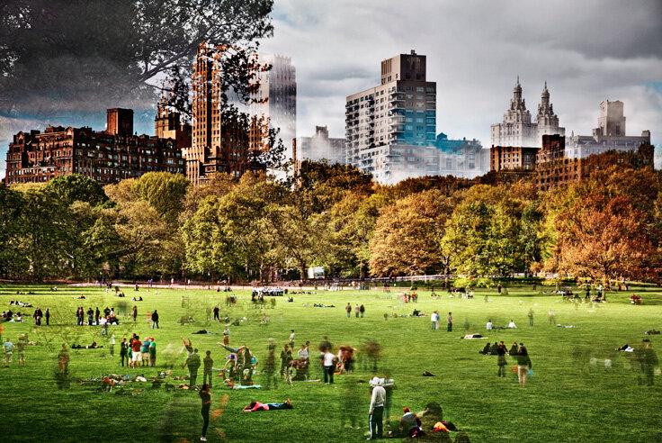 Невероятные 8-секундные городские пейзажи