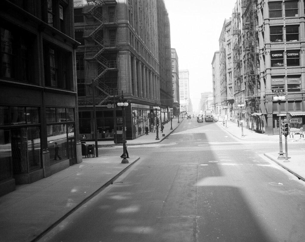 Фотографии старого Чикаго