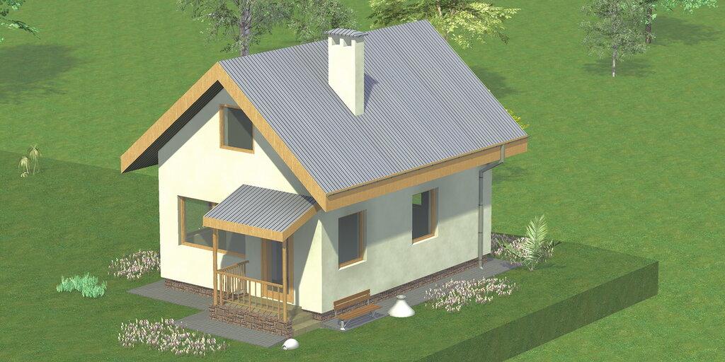 Отделка фасада кирпичного дома — Elite-k