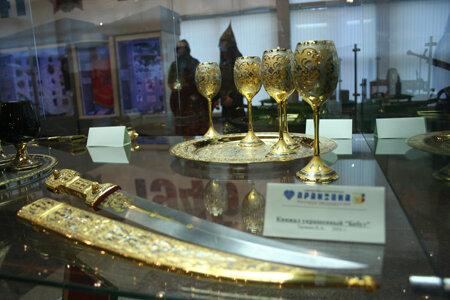 Златоустовское оружие известно во всем мире (15.04.2013)