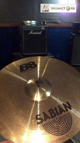 Sabian B8 medium crash