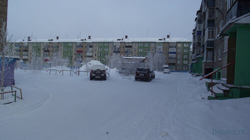 Фото города Инта №3491  Морозова 14, Мира 67 и Морозова 12 10.02.2013_12:02
