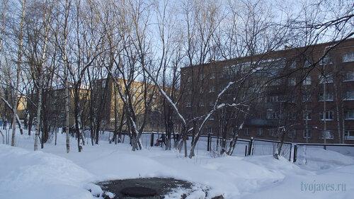Фото города Инта №3858  Мира 18, 17, Чернова 7 и Мира 19 19.02.2013_13:21