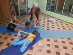 """Детская йога (4-7 лет и 8-12 лет) в студии йоги и пилатеса """"АуРа""""  Тихорецкий бульвар,16"""