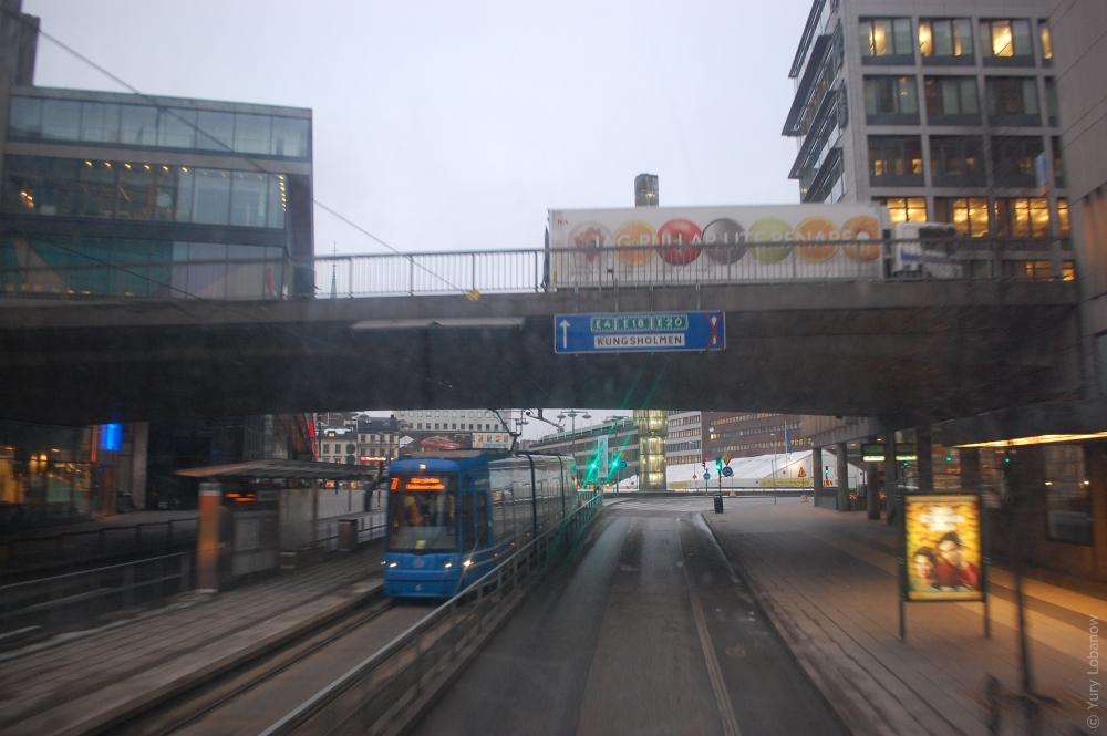Стокгольм, Швеция, Djurgårdslinjen. Музейная линия трамваев №7
