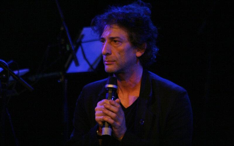 Neil Gaiman with Amanda Palmer at Arena Vienna