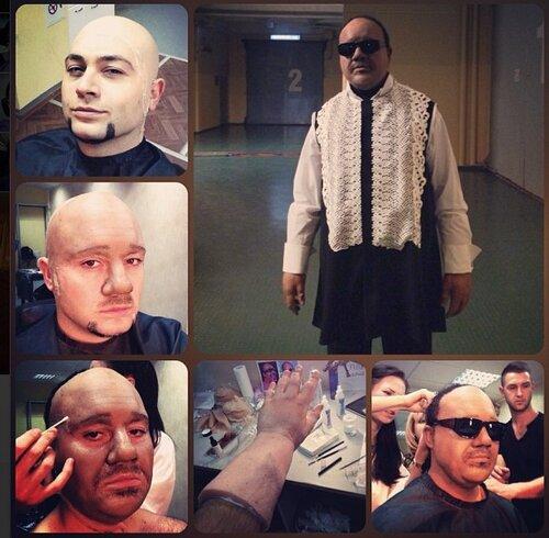 Алексей Чумаков в роли Стиви Уандера