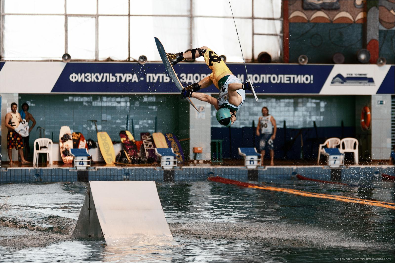 Второй  Открытый чемпионат Самарской области по кабельному вейкбордингу 2013 Тольятти