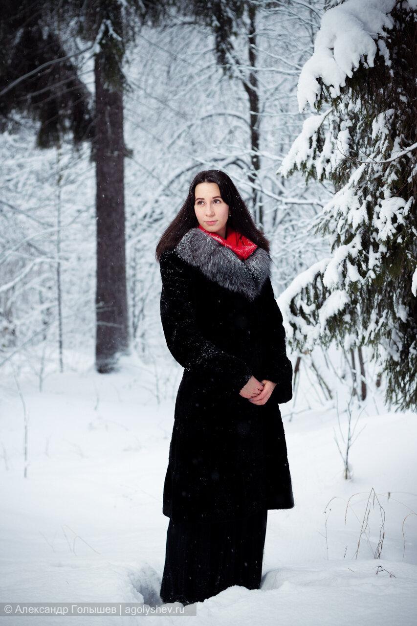 Зимняя фотосессия фото