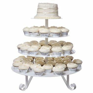 Свадебный торт-пирожные порционный