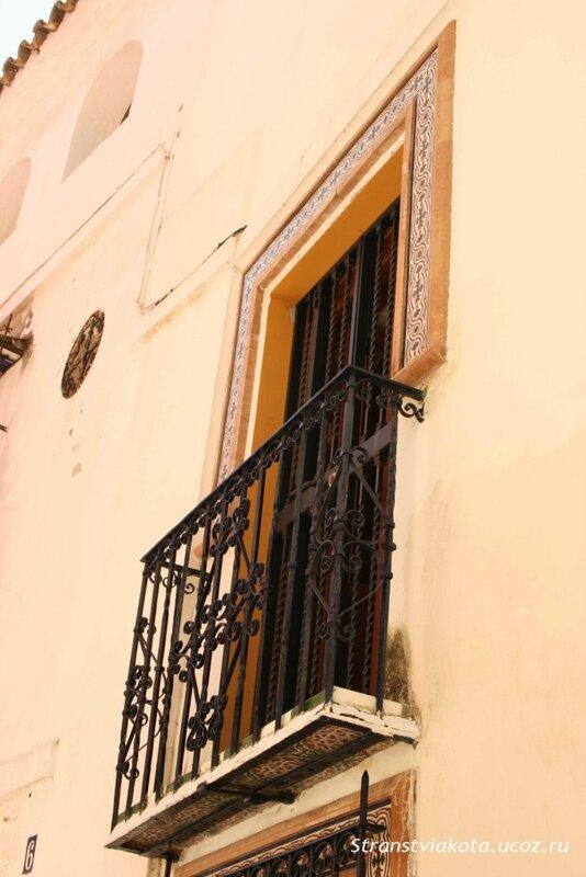 Балкончик в 1-спальном апартаменте Suites Santa Cruz