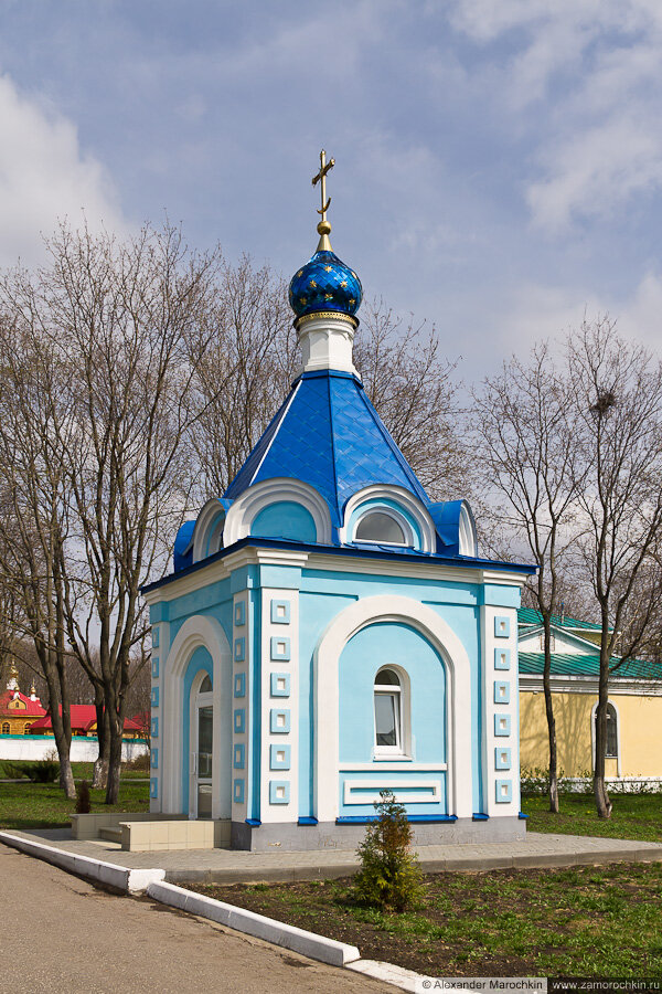 Часовня Иверской иконы Божией Матери в Макаровском монастыре Саранск