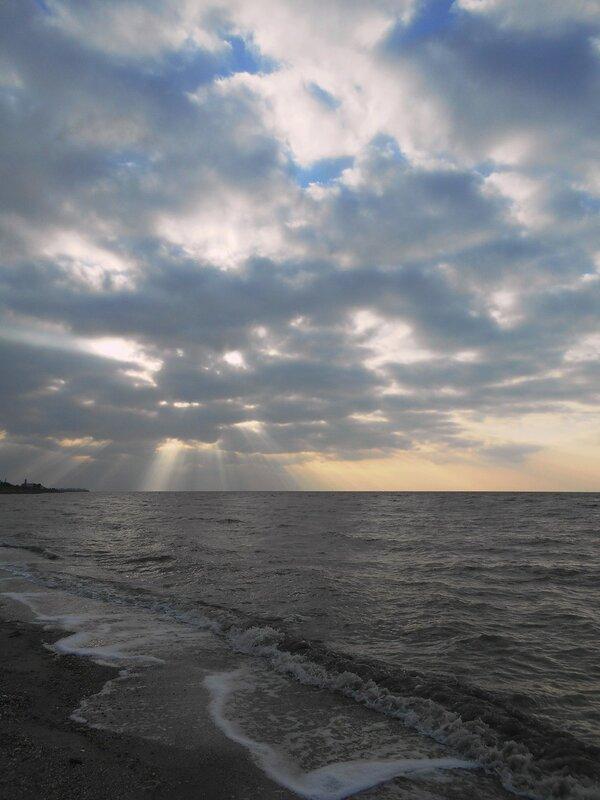 У моря, при закате Солнца ... DSCN2025.JPG