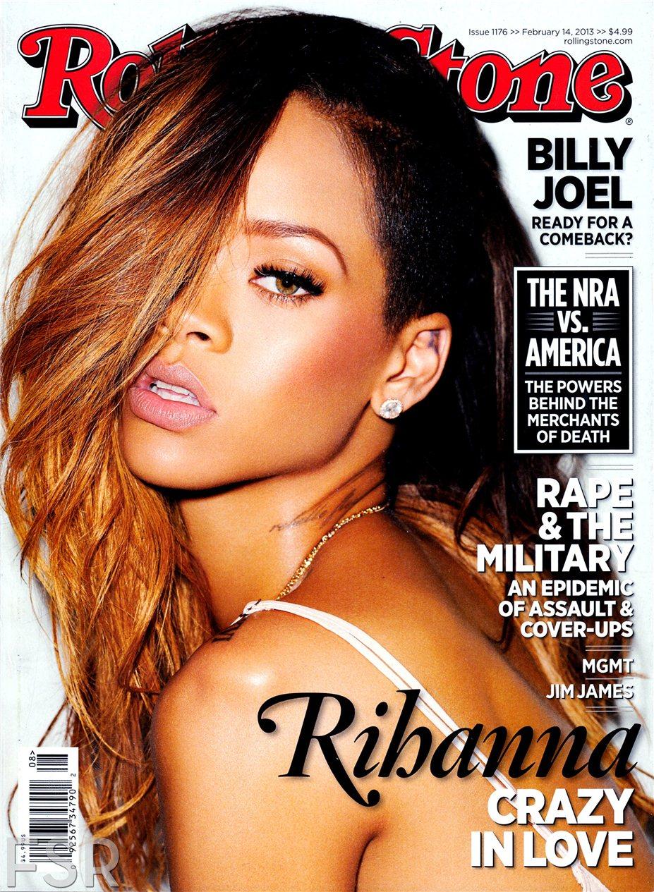 Rihanna / Рианна в журнале Rolling Stone, февраль 2013 / фотограф Terry Richardson
