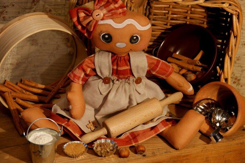 кукла поваренок