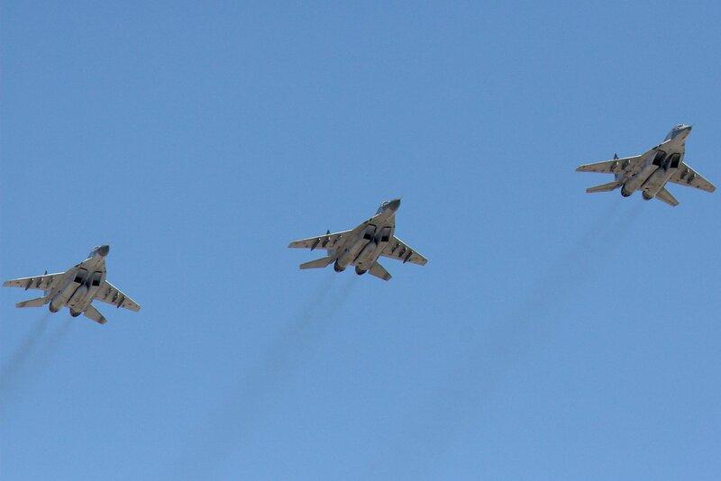 Звено истребителей МиГ-29